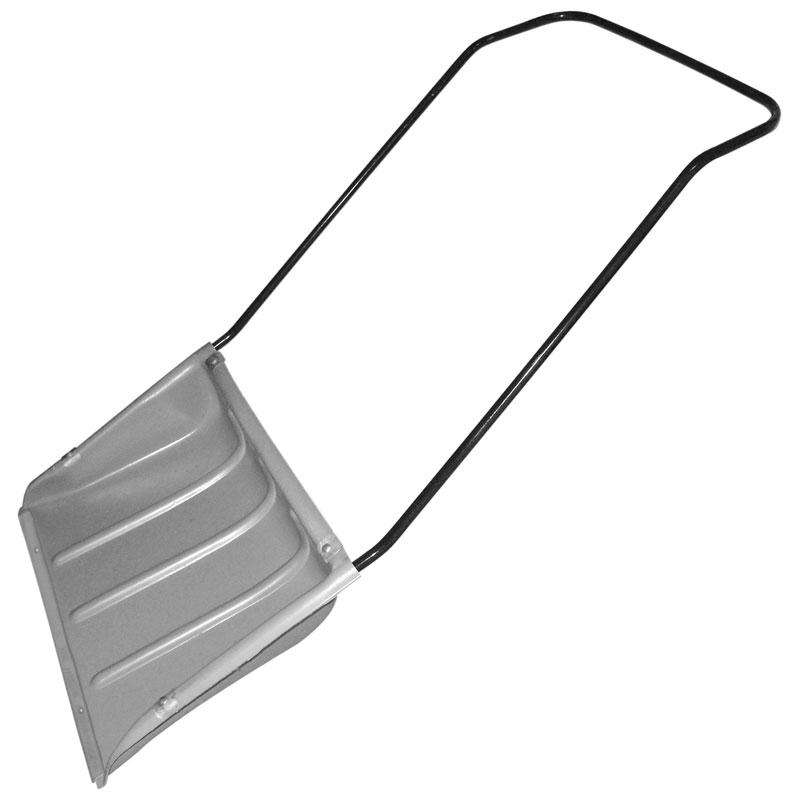 Скрепер малый пласт. ЗАРЯ 600x470мм, с П-ручкой (183629)