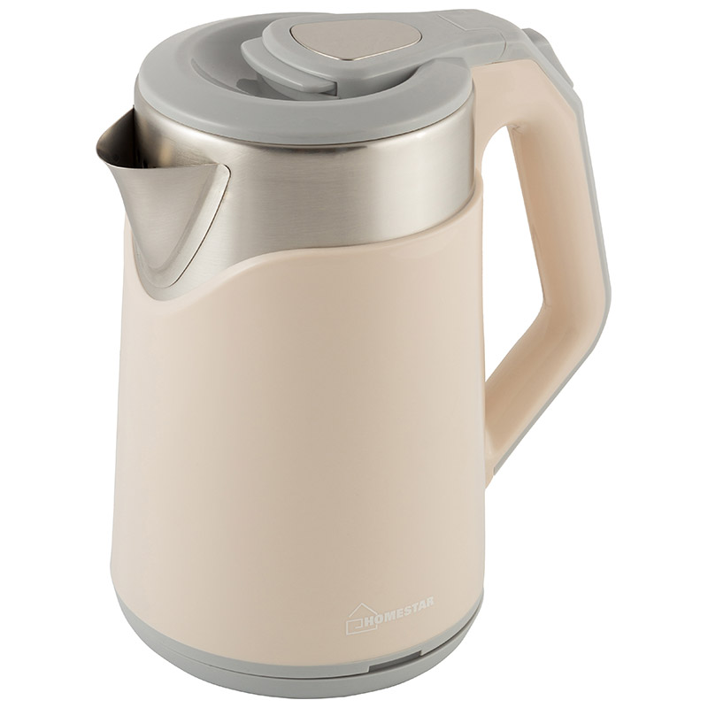 Чайник Homestar HS-1019 (1,8 л) стальной розовый (007368)