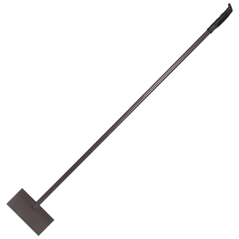 Ледоруб-скребок с метал. черенком, пласт. ручка (АИ) (006369)