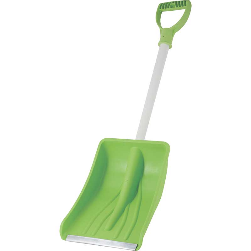 Лопата снег. пласт. автомобильная, цветная, 365x285 (004729)