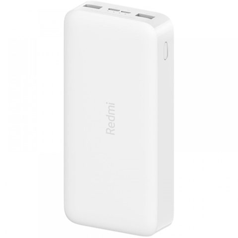 Внешний аккумулятор Xiaomi Redmi 18W Fast Charge Power Bank 20000 mAh, белый (VXN4285GL)
