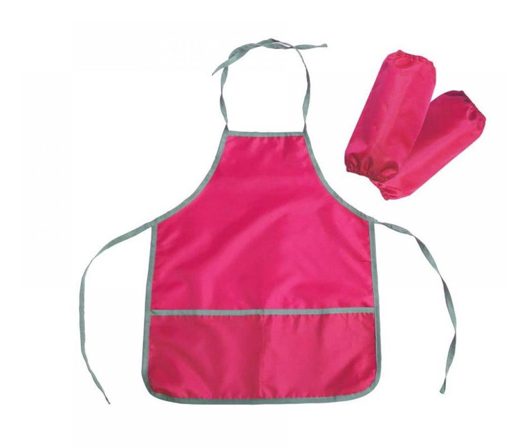 Фартук и нарукавники ФН1 Р цвет-розовый
