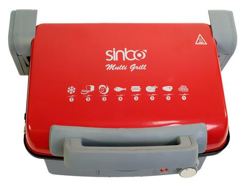 Электрогриль Sinbo, 2000 Вт, 220 V, красный (SSM 2536)