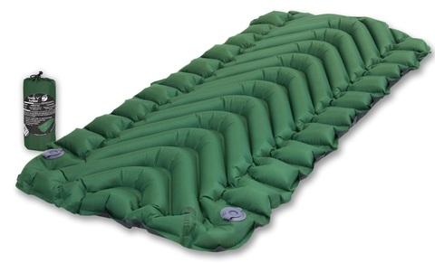 Надувной коврик Klymit Static V Junior, зеленый (06SJGr01A)