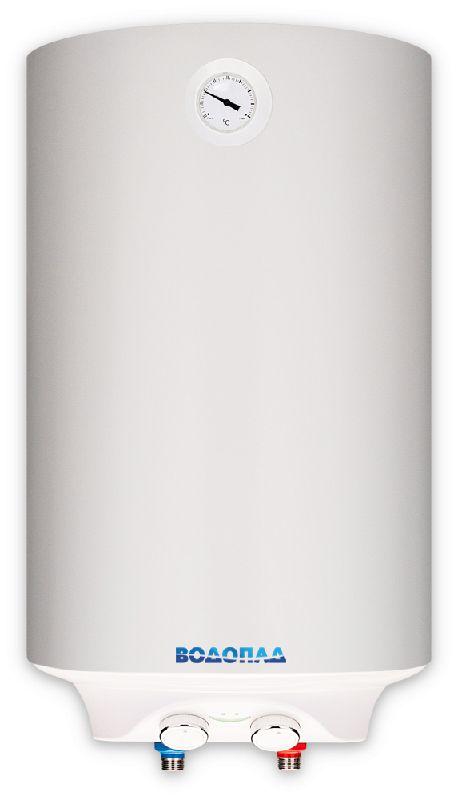 Водонагреватель накопительный ВОДОПАД ВД-80 2 белый (Объем 80 л, мощность 2 кВт, терморегулятор, термометр, индикатор включения, авариный клапан)