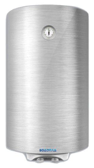 Водонагреватель накопительный ВОДОПАД ВД-80 2 сталь (Объем 80 л, мощность 2 кВт, терморегулятор, термометр, индикатор включения, авариный клапан)