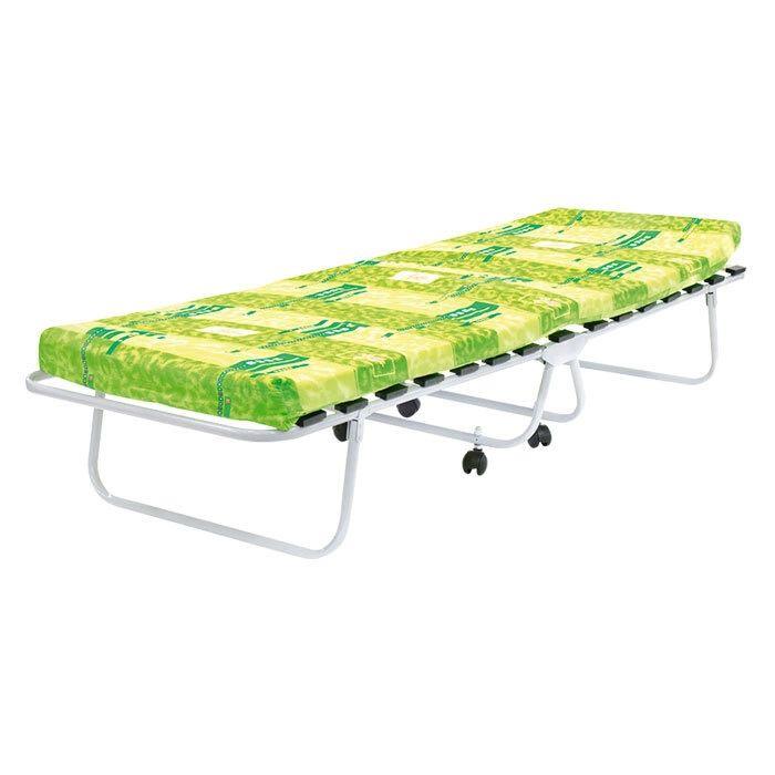Раскладушка детская Пионер М1000 (раскладная кровать на ламелях с матрасом)