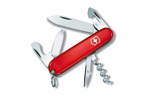 Нож Victorinox Spartan, 91 мм, 12 функций, красный, блистер (1.3603.B1)