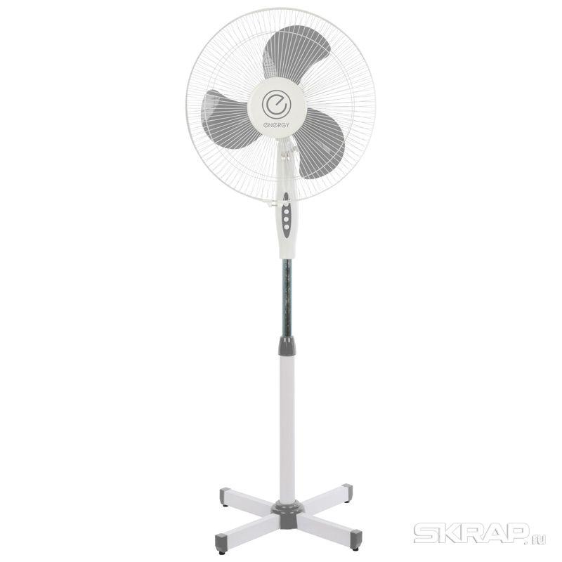Вентилятор Energy EN-1661 (напольный) 16 цвет серый 2шт коробка (009362)