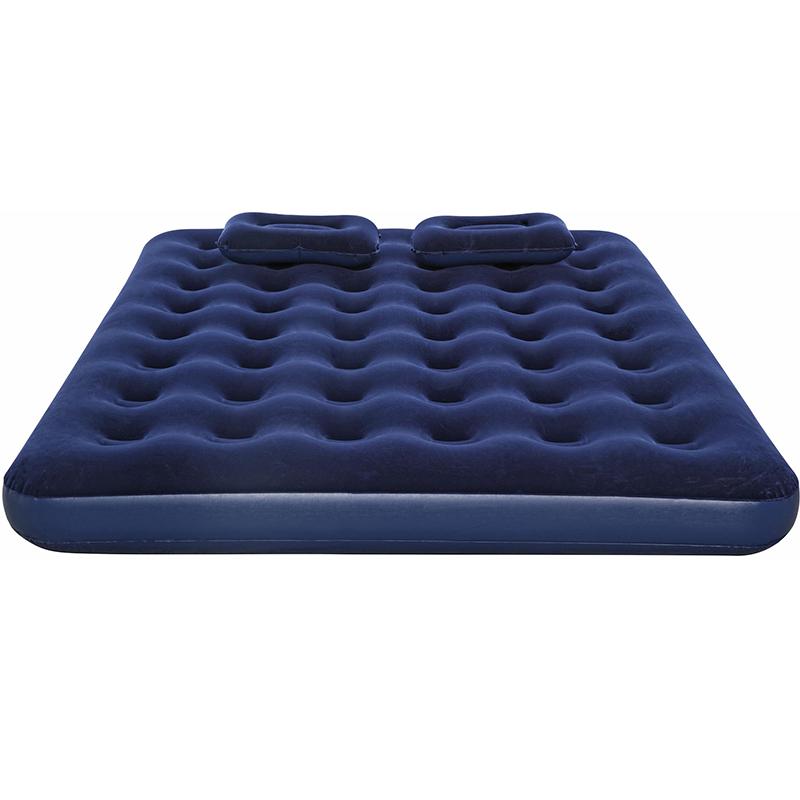 Матрас надувной (Queen), 203x152x22см, ручной насос, 2 подушки, Bestway 67374 (005653)