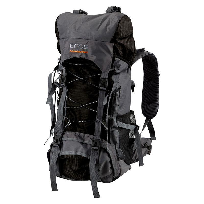 Рюкзак Ecos Appalachian, черный 65 л (006681)