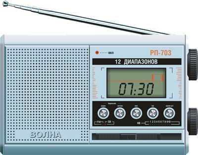 Радиоприемник РП-703 ВОЛНА
