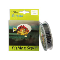 Леска Fishing Style RL2911 0.18mm тест 2.72кг 100m