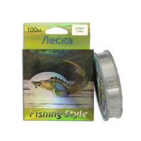 Леска Fishing Style RL2925 0.20mm тест 3.50кг 100m