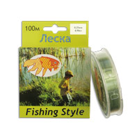 Леска Fishing Style RL2914 0.25mm тест 4.94кг 100m