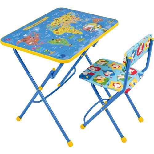 Комплект детской мебели Ника КУ1 10 (для 3-7 лет) тема Познаем мир