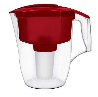Аквафор Гарри фильтр для воды (красный) 3,9л + доп. кассета В100-5