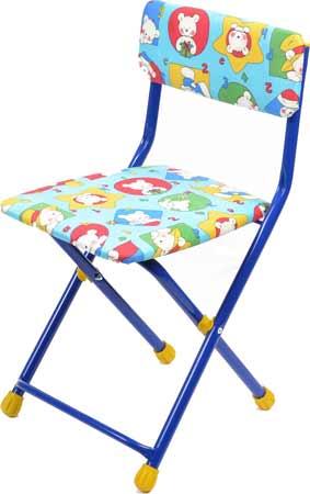 Стул детский Ника СТУ1 (мягкий, высота до сиденья 320 мм) складной
