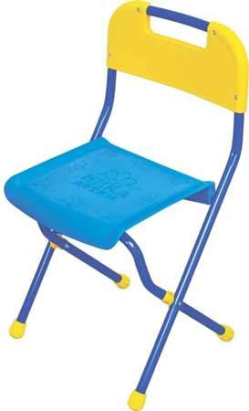 Стул детский Ника СТУ2 (пластмасса, высота до сиденья 350 мм) складной