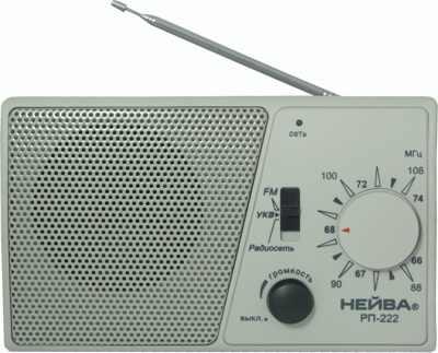 Радиоприемник Нейва РП-222