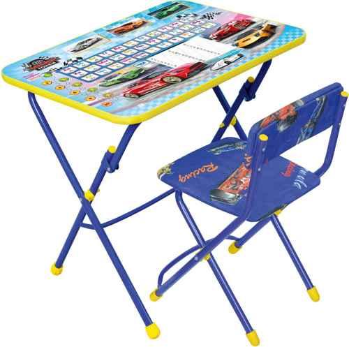 Комплект детской мебели Ника КУ1 15 (для 3-7 лет) тема Большие гонки
