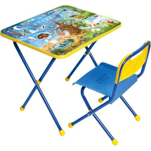 Комплект детской мебели Ника КП 7 (для 1-3 лет) тема Хочу все знать
