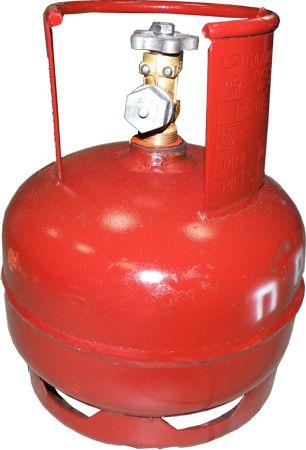 Баллон для сжиженных газов 5л газовый