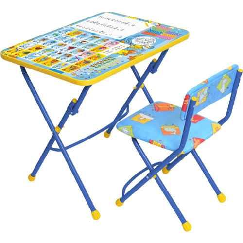 Комплект детской мебели Ника КУ1 11 (для 3-7 лет) тема Первоклашка.Осень
