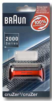 2000 Сетка Braun 2000 Cruzer3 (red) тип 7091064Купить