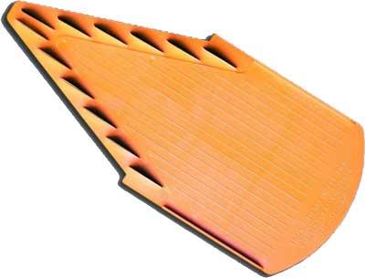 BORNER Дополнительная вставка 7,0 мм к комплекту модели TREND арт.3000056 цвет оранжевый