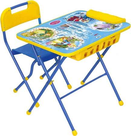 Комплект детской мебели Ника КПУ2П 16 (для 3-7 лет) тема Волшебный Мир Принцесс