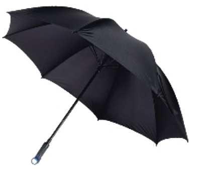 Зонт IRIT IRU-04 полуавтоматический складной c фонариком