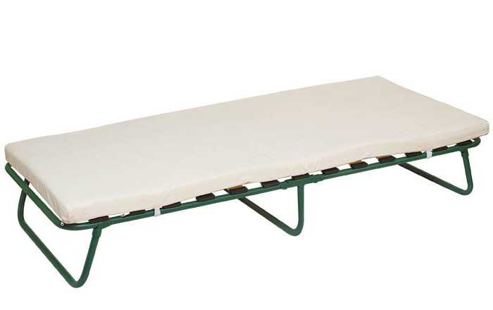 Раскладушка B-04M Анжелика (раскладная кровать с матрасом)