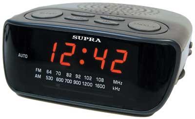 часы супра с радиоприемником инструкция sa38fm