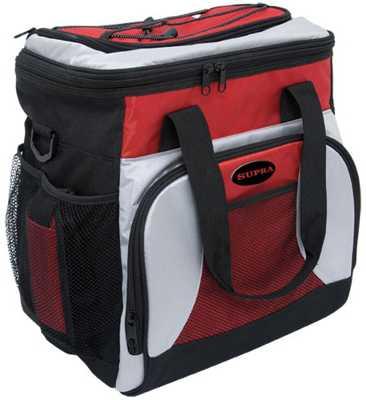 Термоэлектрический холодильник Supra MBC-21 (красный) 21.0л