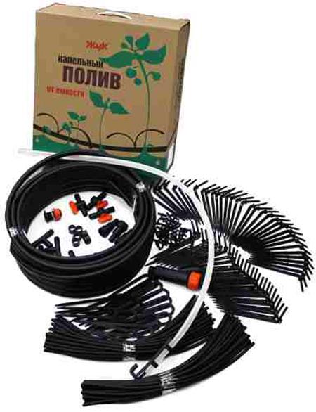 Комплект для капельного полива Жук от Емкости Тепличный (полив 60 растений на площади 18 кв.м.)