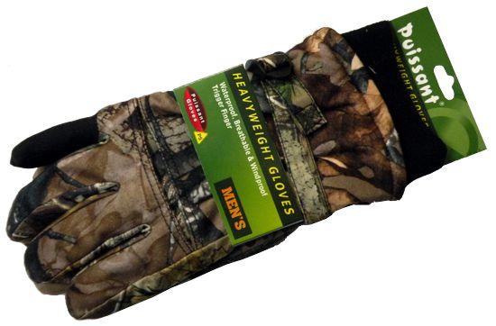 Перчатки для охоты N 4 (осень-зима) камуфлированные