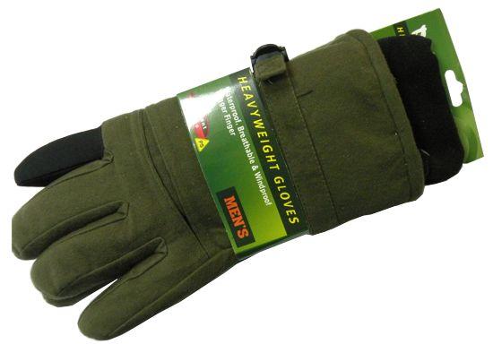 Перчатки для охоты N 10 (осень-зима) зеленые