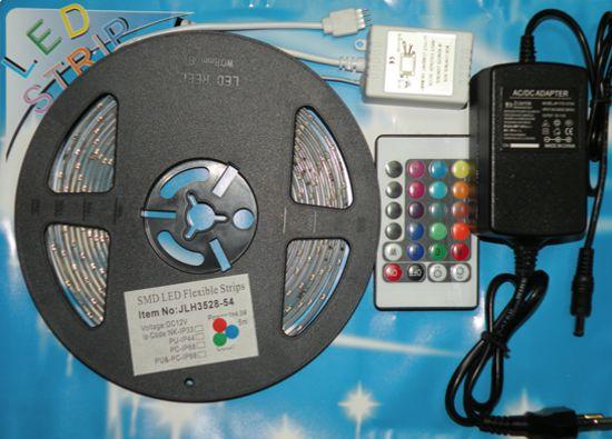 Светящаяся лента JLH3528 270 LED 5м (SMD LED Flexible Strip) разноцветная