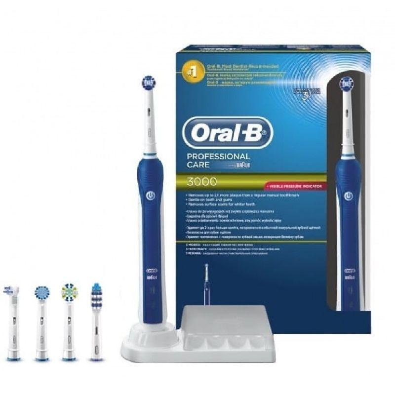 Зубная щетка электрическая Braun Oral-B D20.555.3 Professional Care 3000 3D