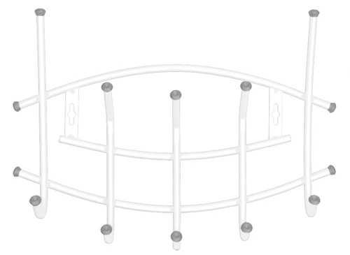 Вешалка настенная Ника Премиум ВНП3 (5 крючков, 450х305мм) цвет-белый