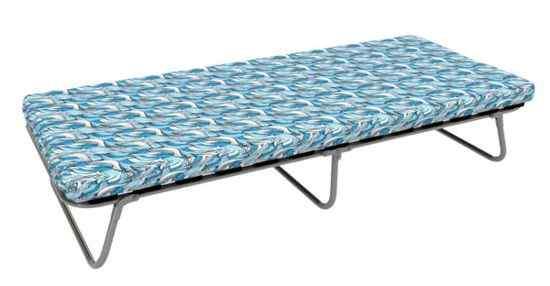 Раскладушка Адель (раскладная кровать на ламелях с матрасом) 1900х800х400 100кг