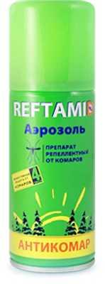 Репеллент Рефтамид REFTAMID антикомар 100мл (4600171025633)