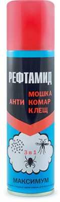 Репеллент Рефтамид Максимум 147мл антимошка-комар-клещ (4600171497034)