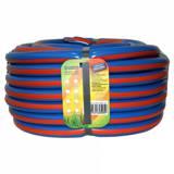 Шланг ПВХ 25м 3 4 дюйма (20мм) армированный синий с оранжевой полосой (Гидроагрегат) (4620764605059)