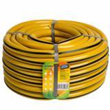 Шланг ПВХ 25м 3 4 дюйма (20мм) армированный желтый с черной полосой (Гидроагрегат) (4620764604984)