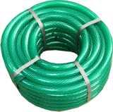 Шланг ПВХ 25м 3 4 дюйма (20мм) армированный зеленый прозрачный Антикризис (Гидроагрегат)