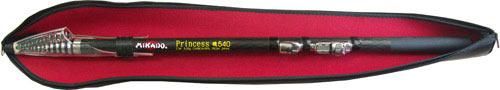 Спиннинг MIKADO PRINCCESS 5.40м телескопический 11 секций тест 5-30г Carbon 98проц.