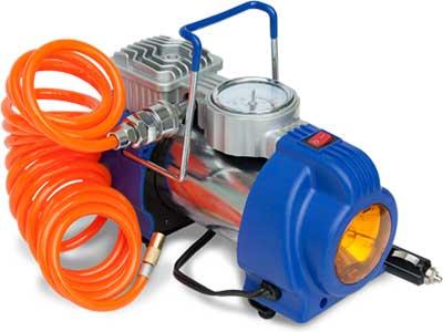 Компрессор автомобильный Ротор Катунь-317 (50 л мин, 10 кгс см2, фонарь)