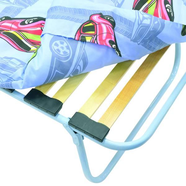 Раскладушка детская Бутуз М600 КТК-12ЛМ-600 (раскладная кровать на ламелях с матрасом)